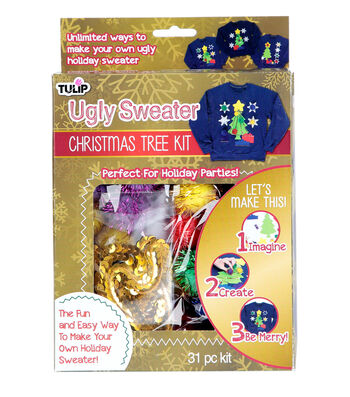 Tulip Ugly Sweater Christmas Tree Kit