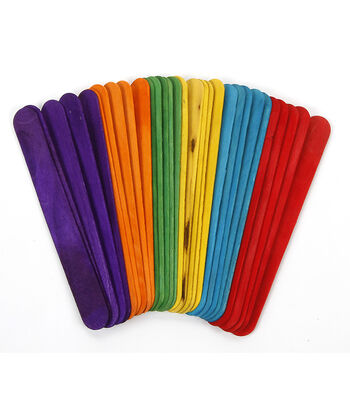 Jumbo Color Sticks 60pc