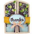 Sizzix Thinlits Lori Whitlock 15 Pk Die-Tree Gatefold Card