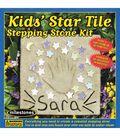 Kids\u0027 Star Tile Stepping Stone Kit