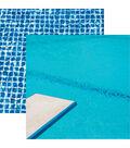 Swim Team Double-Sided Cardstock 12\u0022X12\u0022-Spring Board
