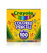Crayola Colored Pencils 100/Pkg, , hi-res