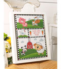 Bucilla Counted Cross Stitch Kit 10.5\u0022X13.25\u0022-Farm Animals Record