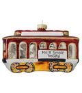 Maker\u0027s Holiday Ornament-Trolley Car