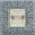 Mixed Company Frame 4x4-Blue Resin