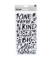 American Crafts Thicker Stickers-Field Notes Chic Phrases, , hi-res