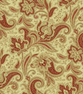 Waverly Upholstery Fabric-Rustic Retreat Crimson