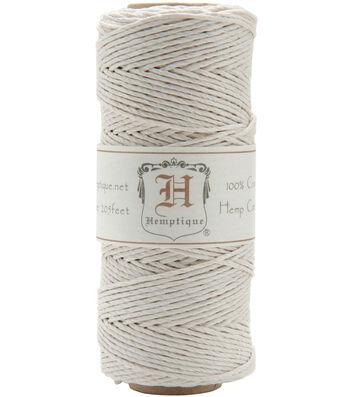 Hemptique 20# 205' Cord Spool-White