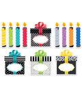 Creative Teaching Press Birthday Party 6\u0022 Cut-Outs, 72 Per Pack, 3 Packs