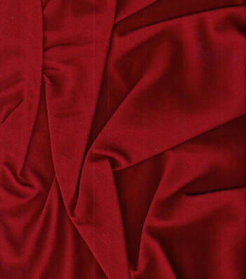 """Homespuns Cotton Fabric 44""""-Red Solid"""