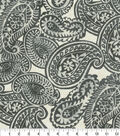 Tommy Bahama Outdoor Fabric 13x13\u0022 Swatch-Summery Spin Ink