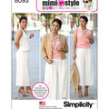 Simplicity Patterns US8093H5 Sportswear-6-8-10-12-14