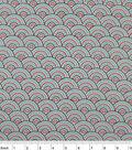 Snuggle Flannel Fabric -Print Ava Dotted Scallop