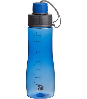 Trudeau 22 oz. Reade Bottle-Cobalt Blue