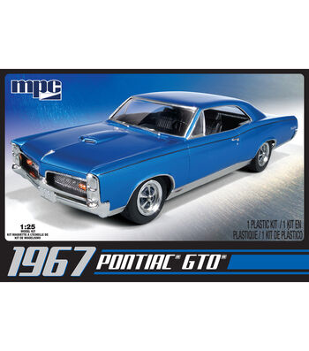 MPC 1967 Pontiac GTO 1:25 Scale Model Car Kit