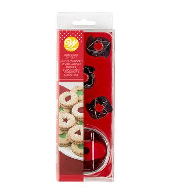 Wilton 7 Piece Linzer Cookie Cutter Set