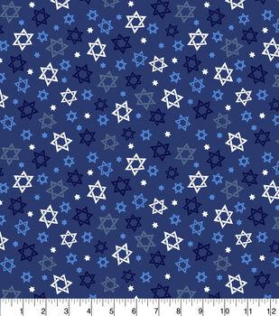 Christmas Cotton Fabric-Star of David