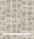 Studio NYC Upholstery Décor Fabric-Ridge Dune