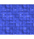 Keepsake Calico Cotton Fabric-Tiles Colbalt