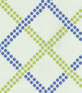 Home Decor 8\u0022x8\u0022 Fabric Swatch-Upholstery Fabric-Waverly Crossways/Blueberry