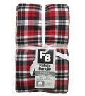 Pre-Cut Quilt Fabrics 18\u0022x21\u0022-Red Homespuns