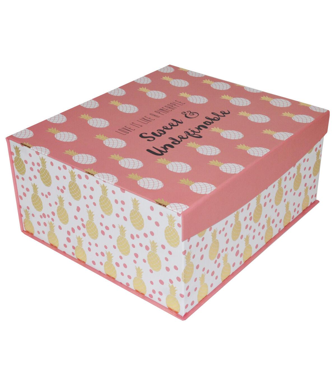 Organizing Essentialsu0026#8482; Large Flip Top Box Sweet U0026 Undefinable