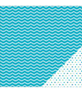 American Crafts Basics Wave Double-Sided Cardstock
