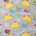 Blizzard Fleece Fabric-Taco-Tastic