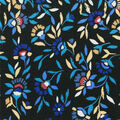 Knit Prints Double Brushed Fabric-Navy Ditsy Floral