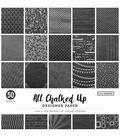 Colorbok Designer Single-Sided Paper 12\u0022X12\u0022-All Chalked Up, 25 Designs