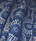 Kelly Ripa Home Upholstery Fabric 54\u0027\u0027-Bluejay Spiral Graph