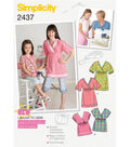 Simplicity Pattern 2437HH 3-4-5-6 -Simplicity Child Gir