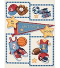 Dimensions Baby Hugs Little Sports Birth Record Cntd X-Stitch Ki