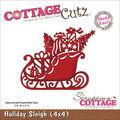 CottageCutz Die Holiday Sleigh