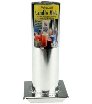 Yaley Metal Candle Mold-Round Cylinder