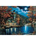 Plaid Paint By Number Kit 16\u0022x20\u0022 Lakeside Cabin