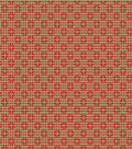 Home Decor 8x8 Fabric Swatch-Eaton Square Proceed Flame
