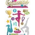 Paper House 3D Stickers-Gymnastics
