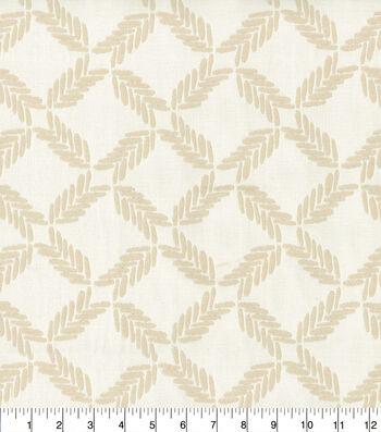 Ellen DeGeneres Multi-Purpose Decor Fabric 54''-Parchment Lookout Lattice