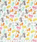 Doodles Juvenile Apparel Fabric 57\u0027\u0027-Tossed Kitties