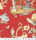 Home Decor 8\u0022x8\u0022 Fabric Swatch-P/K Lifestyles East of the Moon Cinnabar