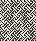 Waverly Multi-Purpose Decor Fabric 54\u0022-Cross Section Licorice