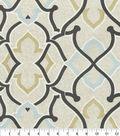 P/K Lifestyles Outdoor Print Fabric 54\u0027\u0027-Onyx Linked