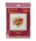 Riolis Watercolor Gerberas Counted Cross Stitch Kit