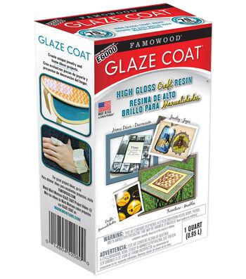 Eclectic Inc. Famowood 32 oz. Glaze Coat High Gloss Craft Resin
