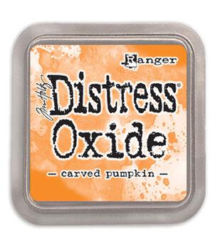 Ranger Tim Holtz 3''x3'' Distress Oxide Ink Pad-Craving Pumpkin