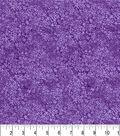 Premium Quilt Cotton Fabric 43\u0022-Purple Dark Vines
