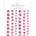 Park Lane Paperie 56 pk Bling Embellishments-Pink & Yellow