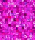 Snuggle Flannel Fabric 42\u0022-Pink Watercolor Tile