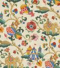 Home Decor 8\u0022x8\u0022 Fabric Swatch-Pkaufmann Uzbek Jewel